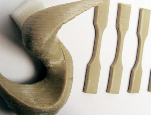 UGent printed PEEK part for Solvay