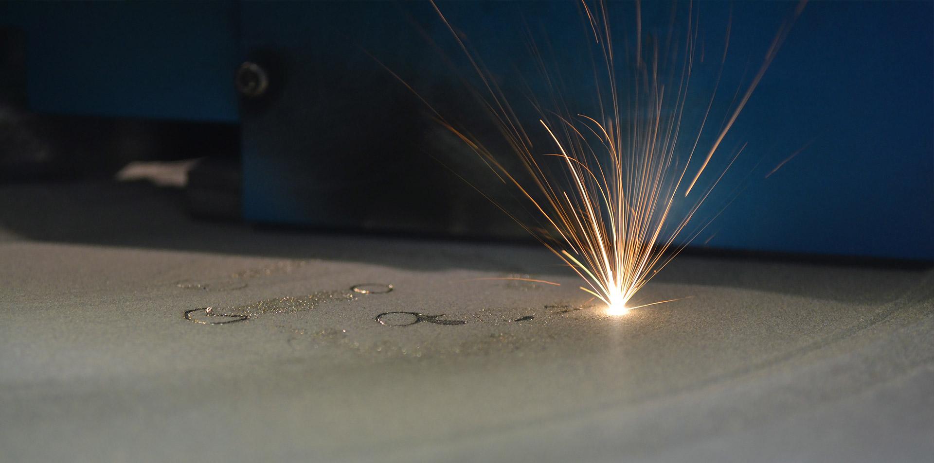 SLM 3D-printproces in metaal