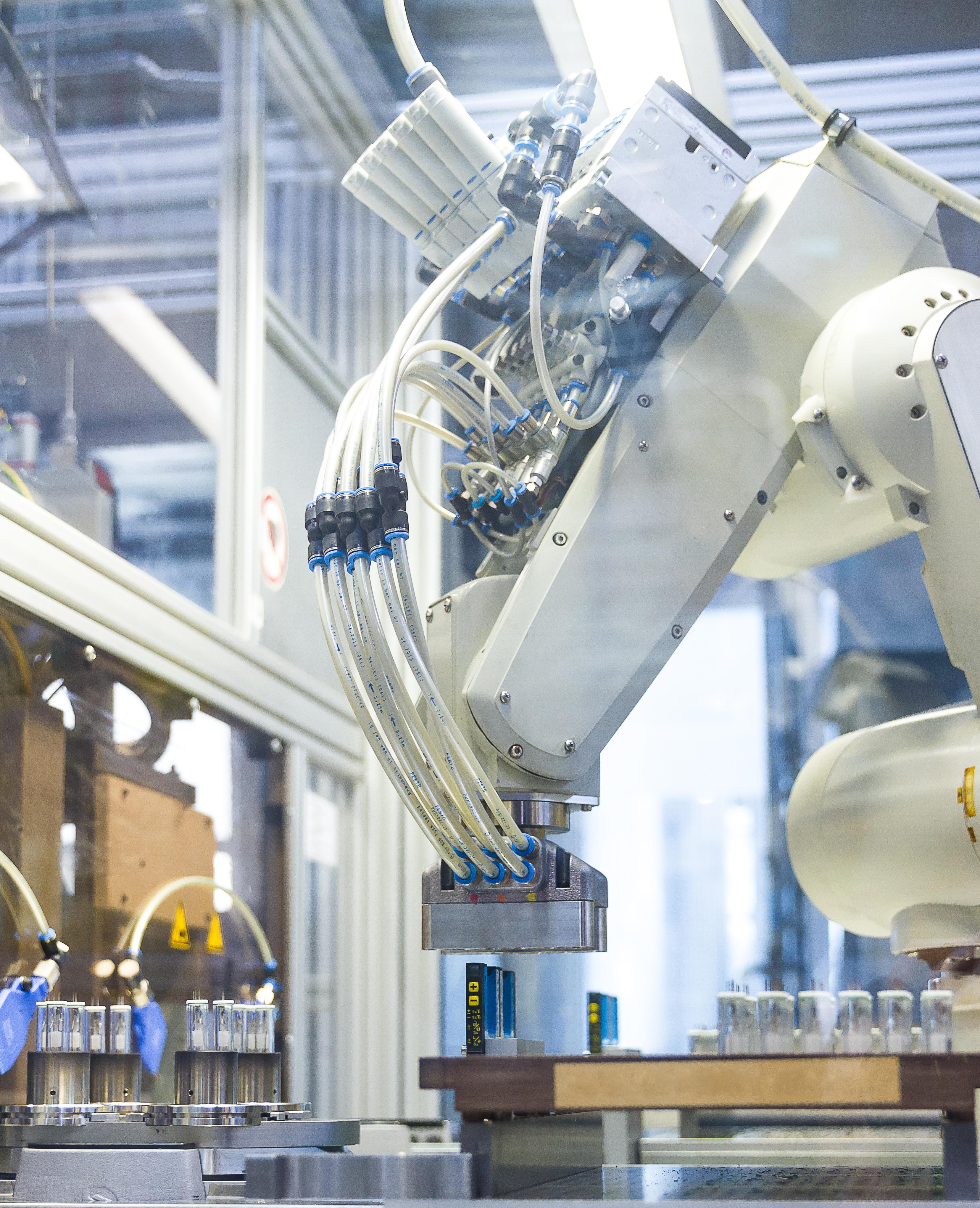 Philips 3D-geprinte metalen suction gripper