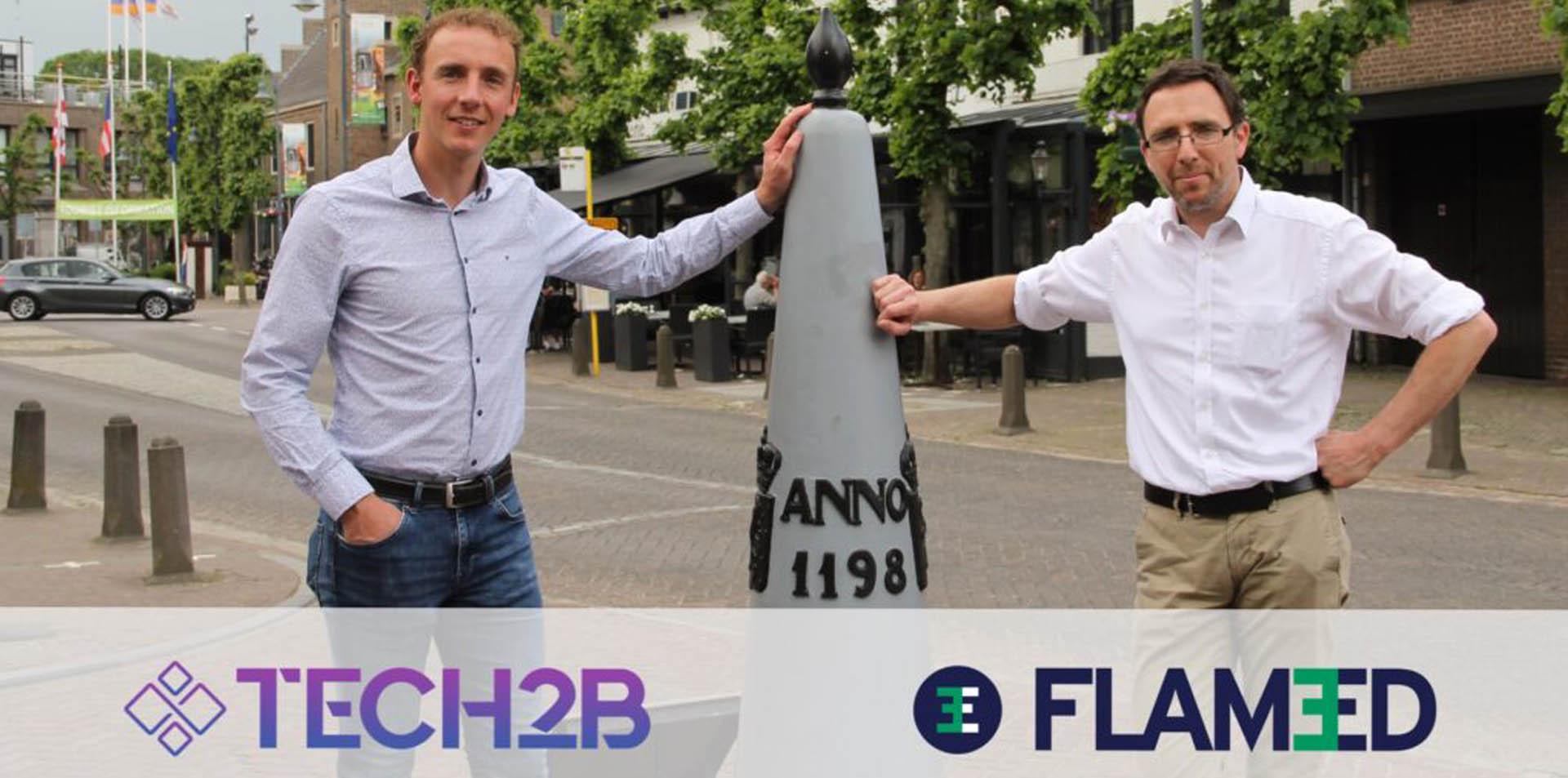 Tech2B samenwerking Flam3D