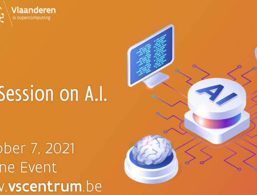 Flyer VSC Lunch Session on AI